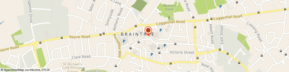 Route/map/directions to Holland & Barrett, CM7 1UR Braintree, 40 Bank Street