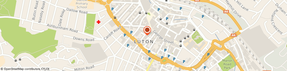 Route/map/directions to Ali Barber, LU1 2QH Luton, 30 Wellington Street