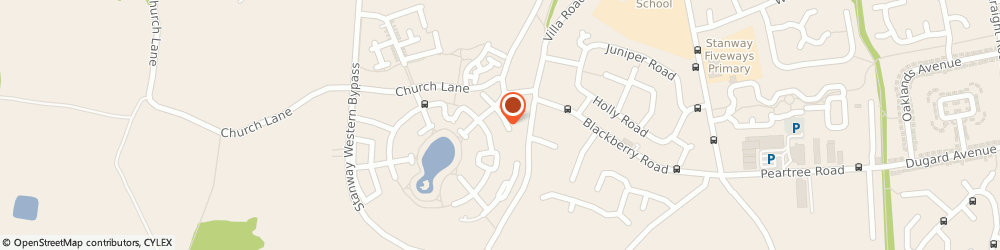 Route/map/directions to Richard Wheeler Partnership, CO3 5NN Colchester, 12 NIGHTINGALE PLACE