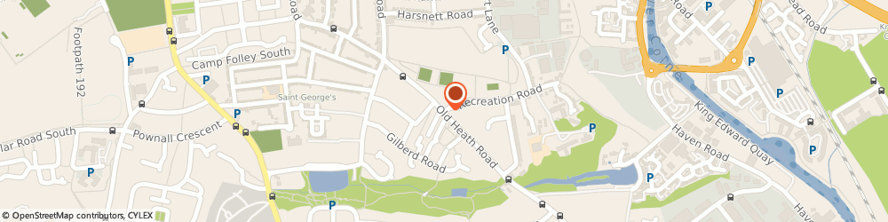 Route/map/directions to Colchester Christian Spiritualist Church, CO1 2HE Colchester, 1 RECREATION ROAD