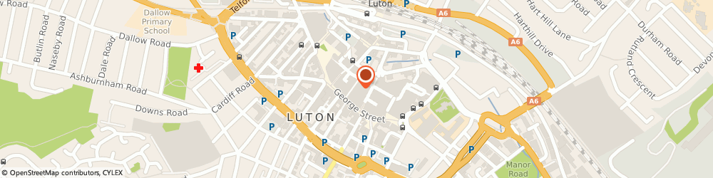 Route/map/directions to Timpson, LU1 2AZ Luton, Unit 4 The Mall 46/48 George Street