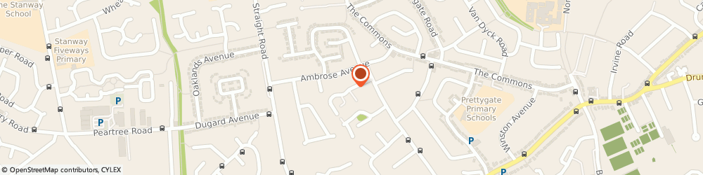 Route/map/directions to Softcomp Consultancy Limited, CO3 4SJ Colchester, 14 SCYTHE WAY