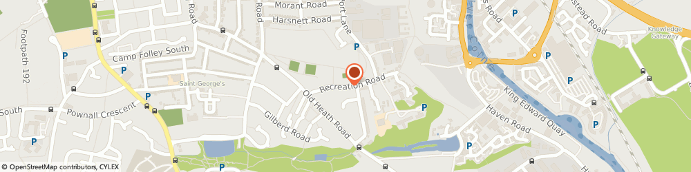 Route/map/directions to Haven Occupational Health Ltd, CO1 2HE Colchester, 19 Recreation Rd