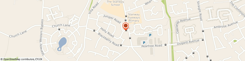 Route/map/directions to MEC ELECTRICAL LIMITED, CO3 0RX Stanway, 2 Juniper Road