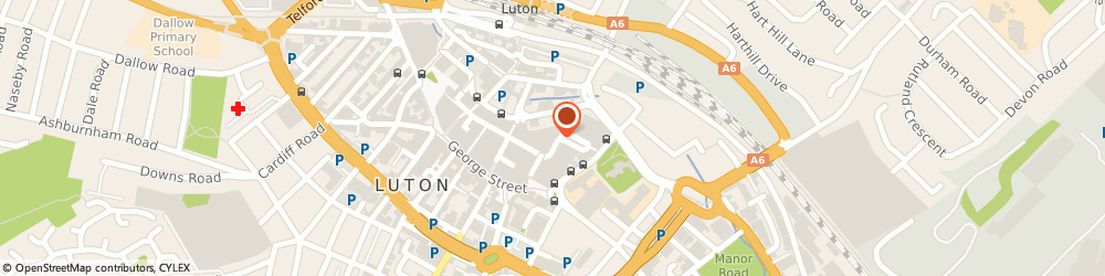 Route/map/directions to Timpson Ltd, LU1 2LJ Luton, 37 The Mall