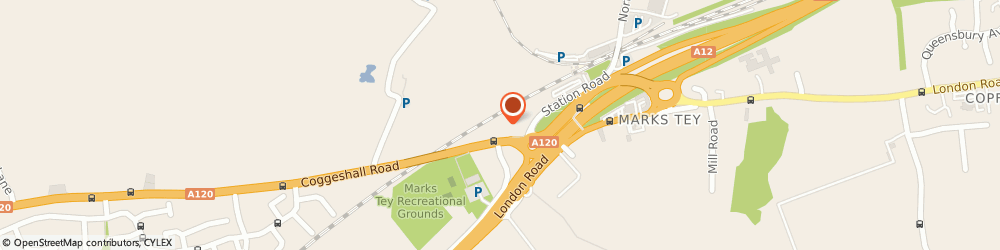 Route/map/directions to BIFOLD BIDESIGN LTD, CO6 1LJ Colchester, Coggeshall
