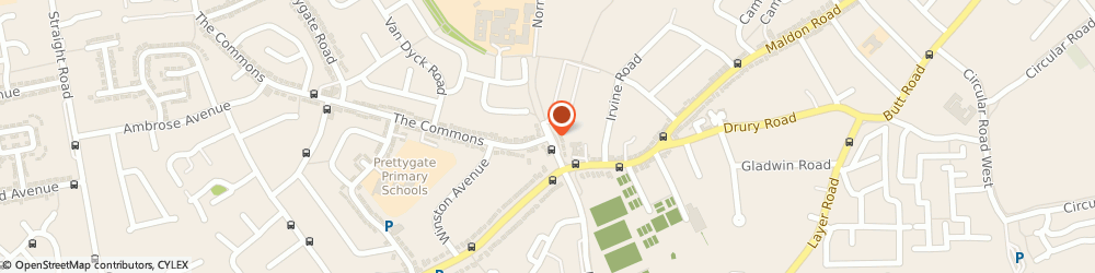 Route/map/directions to St Benedict's College, CO3 3US Colchester, NORMAN WAY
