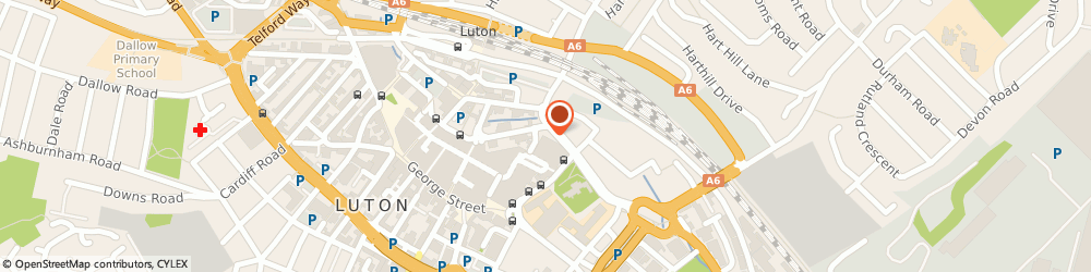 Route/map/directions to Classy Cobbler, LU1 2TA Luton, 23 Market Hall, The Luton Arndale Centre