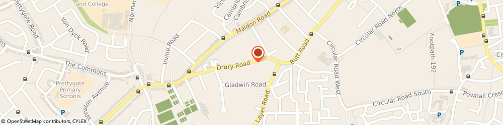 Route/map/directions to Dry Cargo International, CO2 7UX Colchester, 24 Drury Rd