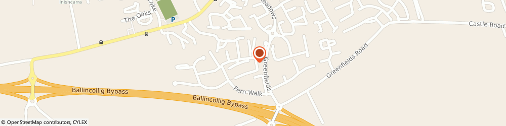 Route/map/directions to SPIROMETRIX LIMITED, P31 Ballincollig, 103 Oldcourt, Greenfields