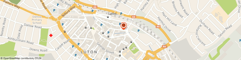 Route/map/directions to RAY'S PLACE home of LUTON POOL CLUB, LU1 2NQ Luton, 37 guildford street