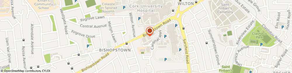 Route/map/directions to Ctv,  Cork, HIGH STREET CENTRE, WILTON, OPP CUH