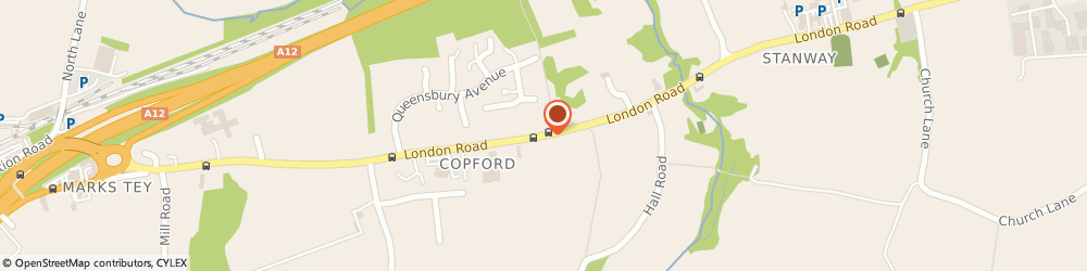 Route/map/directions to Copford Police Station, CO6 1BJ Colchester, 70 LONDON ROAD