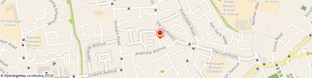 Route/map/directions to J R & S Electrics, CO3 4LR Colchester, 71 Rudsdale Way