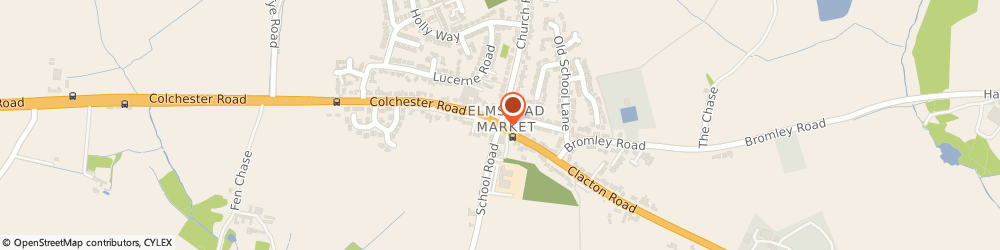 Route/map/directions to Royal Mail, CO7 8JP Colchester, Clacton Road