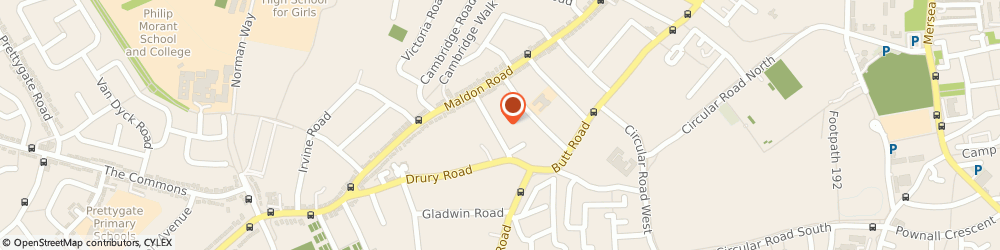Route/map/directions to Prazsky S Cooling Services Ltd, CO3 3BA Colchester, 33, St Helena Rd