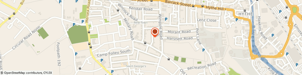 Route/map/directions to The Hot Shots, CO1 2EE Colchester, 4A Granville Road