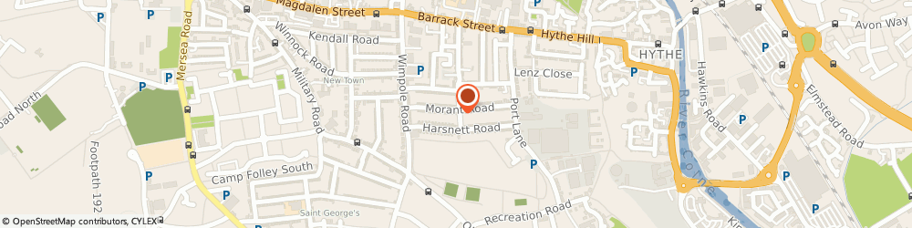 Route/map/directions to Budget Plumbing Services, CO1 2HZ Colchester, 63 Morant Rd
