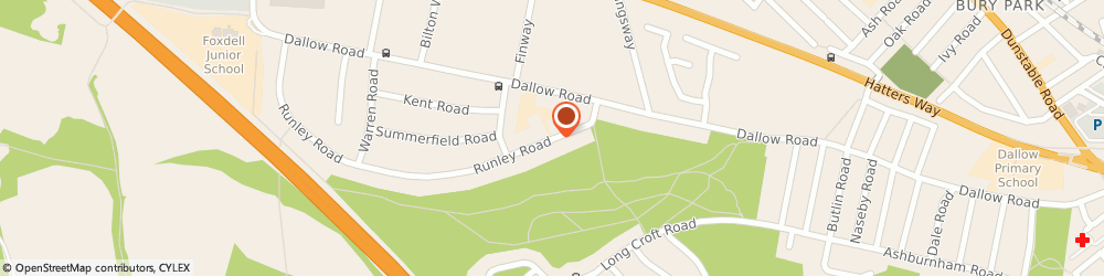 Route/map/directions to Diamond, LU1 1TU Luton, 41 RUNLEY ROAD