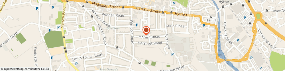 Route/map/directions to C F Maguire Roofing Company, CO1 2JA Colchester, 44 MORANT ROAD
