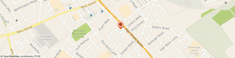 Route/map/directions to Absolute Plumbing & Gas Solutions Ltd, LU6 3JQ Dunstable, 92 Staines Square