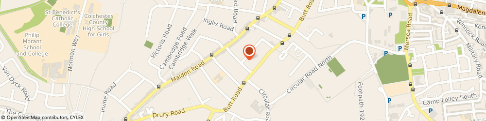 Route/map/directions to Feeling Fresh, CO3 3EE Colchester, 69 WICKHAM ROAD