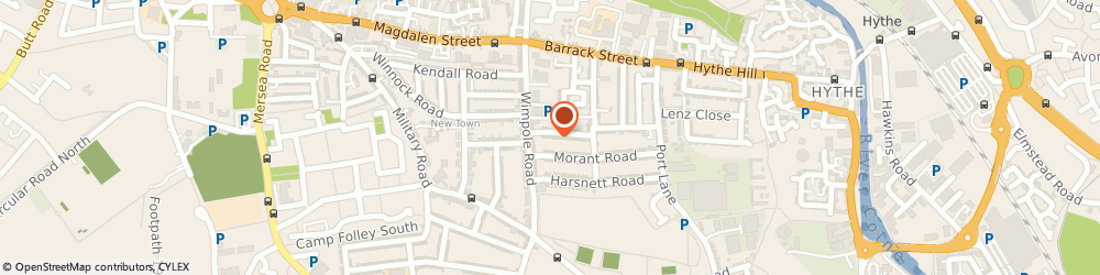 Route/map/directions to Kim's Childminding Service, CO1 2DR Colchester, 2 King Stephen Rd