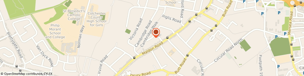 Route/map/directions to The Extension Company Ltd, CO3 3AU Colchester, 3 Christchurch Court