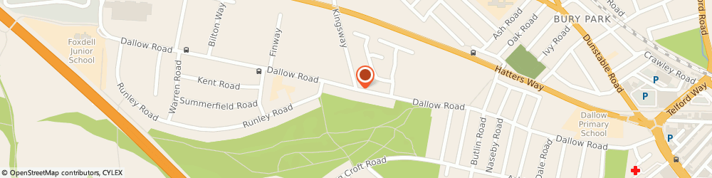 Route/map/directions to Executive Barbers, LU1 1NE Luton, 118 Dallow Rd