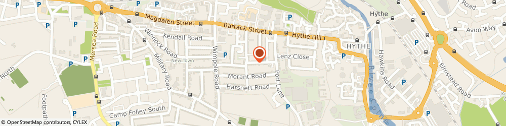Route/map/directions to 24 Hour Colchester Locksmiths, CO1 2JQ Colchester, Artillery Street