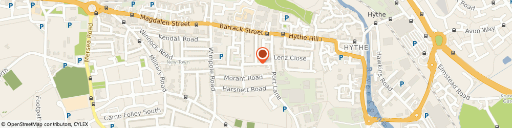 Route/map/directions to 24 Hour Colchester Glaziers, CO1 2JQ Colchester, ARTILLERY STREET