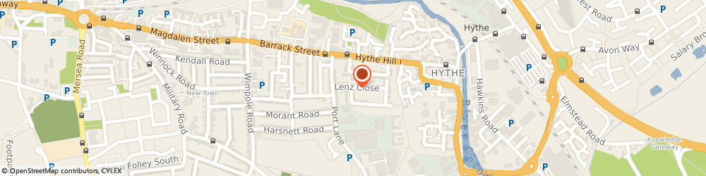 Route/map/directions to Lenz Security, CO1 2FP Colchester, 86 Lenz Close