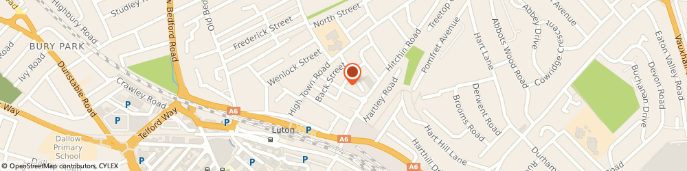 Route/map/directions to M.s Foods, LU2 0EY Luton, 2, TAYLOR STREET