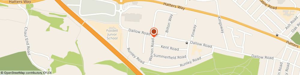 Route/map/directions to JMD Glass, LU1 1UN Luton, 495 Dallow Rd