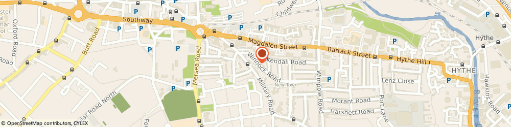 Route/map/directions to Trend Properties Limited, CO1 2BG Colchester, FORESTERS HSE 25 WINNOCK ROAD