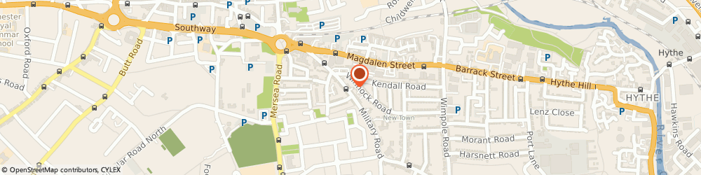 Route/map/directions to Anglia Cash Registers Limited, CO1 2AJ Colchester, CASH REGISTER HOUSE,, 30,MILITARY ROAD