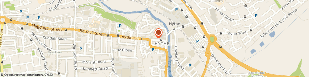 Route/map/directions to Hythe Hill Motorcycles, CO1 2NP Colchester, 120 Hythe Hill