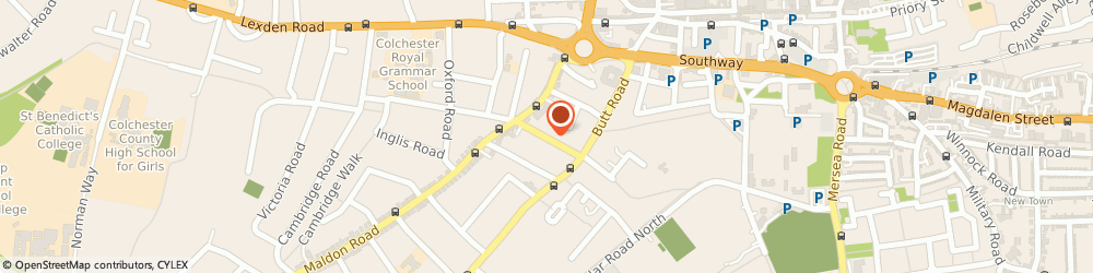 Route/map/directions to Kevin Finnigan Associates Limited, CO3 3DH Colchester, 31 Beaconsfield Avenue