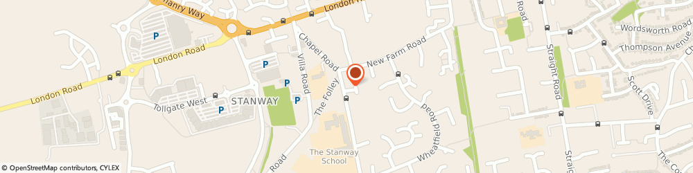 Route/map/directions to L & S Building Contractors Limited, CO3 0PZ Stanway, 10A Winstree Road