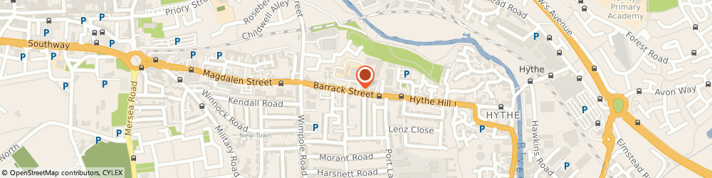 Route/map/directions to Cre8, CO1 2LS Colchester, 64B BARRACK STREET