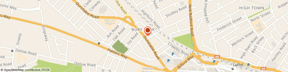 Route/map/directions to Miah Bros, LU1 1EW Luton, 118 DUNSTABLE ROAD
