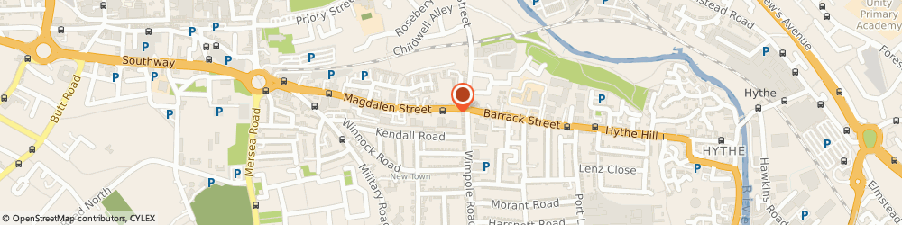 Route/map/directions to Easy Hairdressing Academy, CO1 2LA Colchester, 109 MAGDALEN STREET