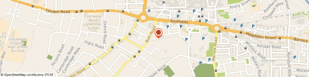 Route/map/directions to Insights, CO3 3DA Colchester, Suite 210b Wellington House, 90-92, Butt Rd