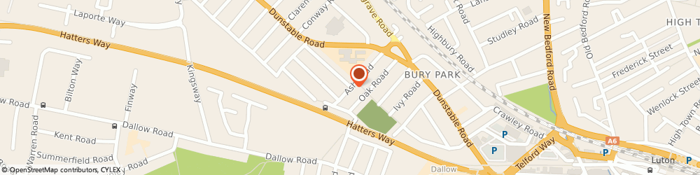 Route/map/directions to Badar Halal, LU4 8AQ Luton, 70 Ash Road