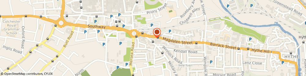 Route/map/directions to J.D.Robertson & Co.Ltd, CO1 2LD Colchester, 26 Magdalen Street