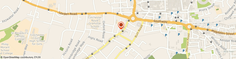 Route/map/directions to Dovbear Productions, CO3 3HF Colchester, 44 Wellesley Road