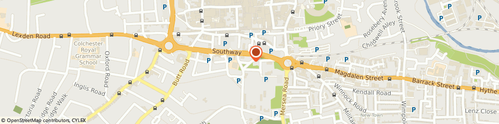 Route/map/directions to Attitude Hairdressing, CO2 7AA Colchester, 53 ST. JOHNS STREET