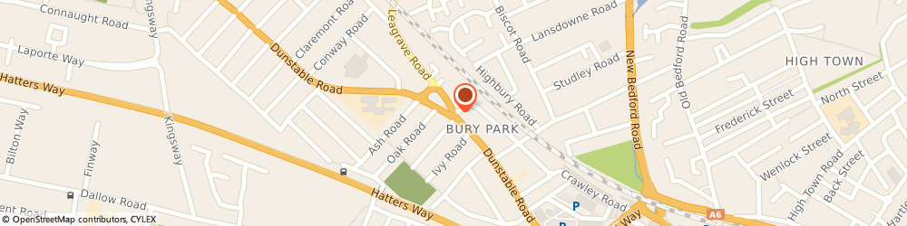 Route/map/directions to New Bangla Bazaar, LU1 1EW Luton, 166 Dunstable Rd