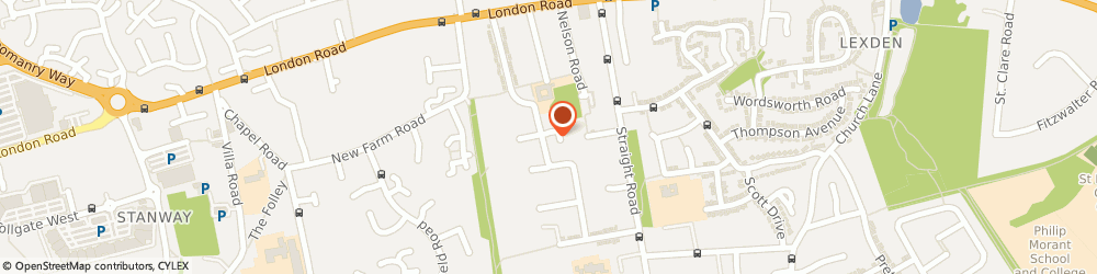 Route/map/directions to Cicelys Cakes & Savouries, CO3 9AY Colchester, 58 COLLINGWOOD ROAD