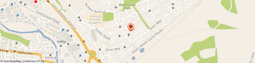 Route/map/directions to AH Services & Repairs, CO4 3XZ Colchester, 18 Hunwicke Rd
